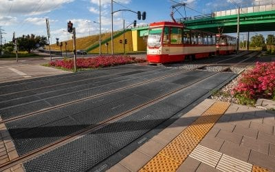 New Rosehill Rail Level Crossings Unveiled in Gdansk, Poland