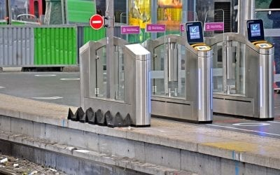 Anti-Trespass Panels Installed at Gare du Nord Station in Paris