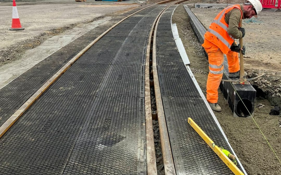 New Level Crossing at Wind Turbine Factory in Hull