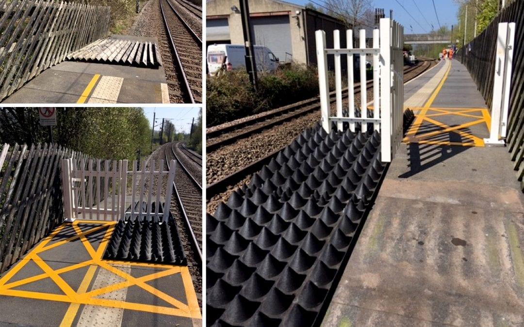 Anti-Trespass Panels Deployed at Seeton Station