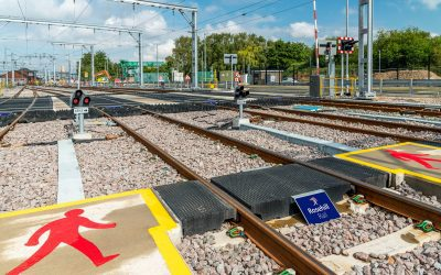 Rosehill Baseplated Pedestrian Crossing